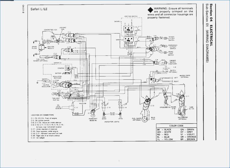 Wiring Diagram PDF: 2002 Ski Doo Wiring Diagram