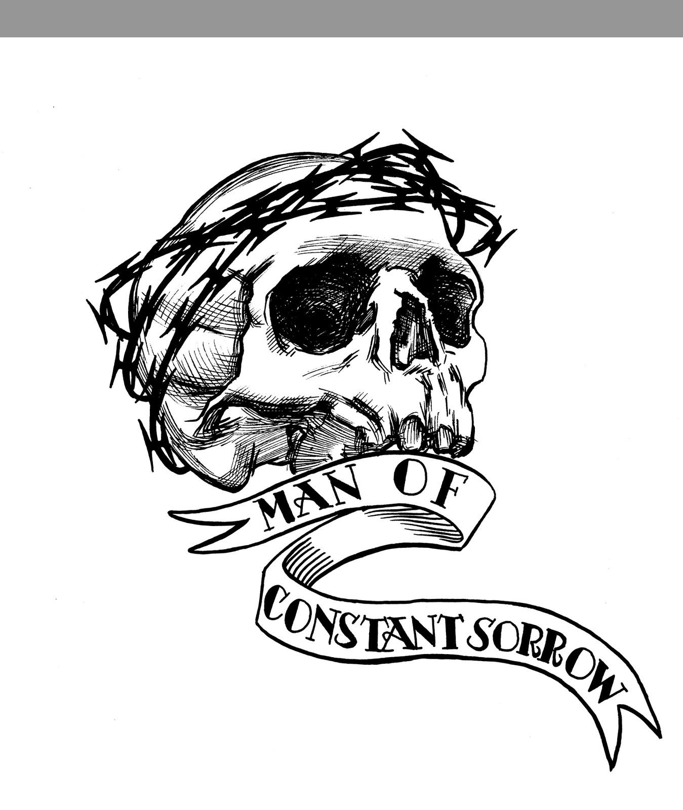 Skull Sleeve Drawing At Getdrawings