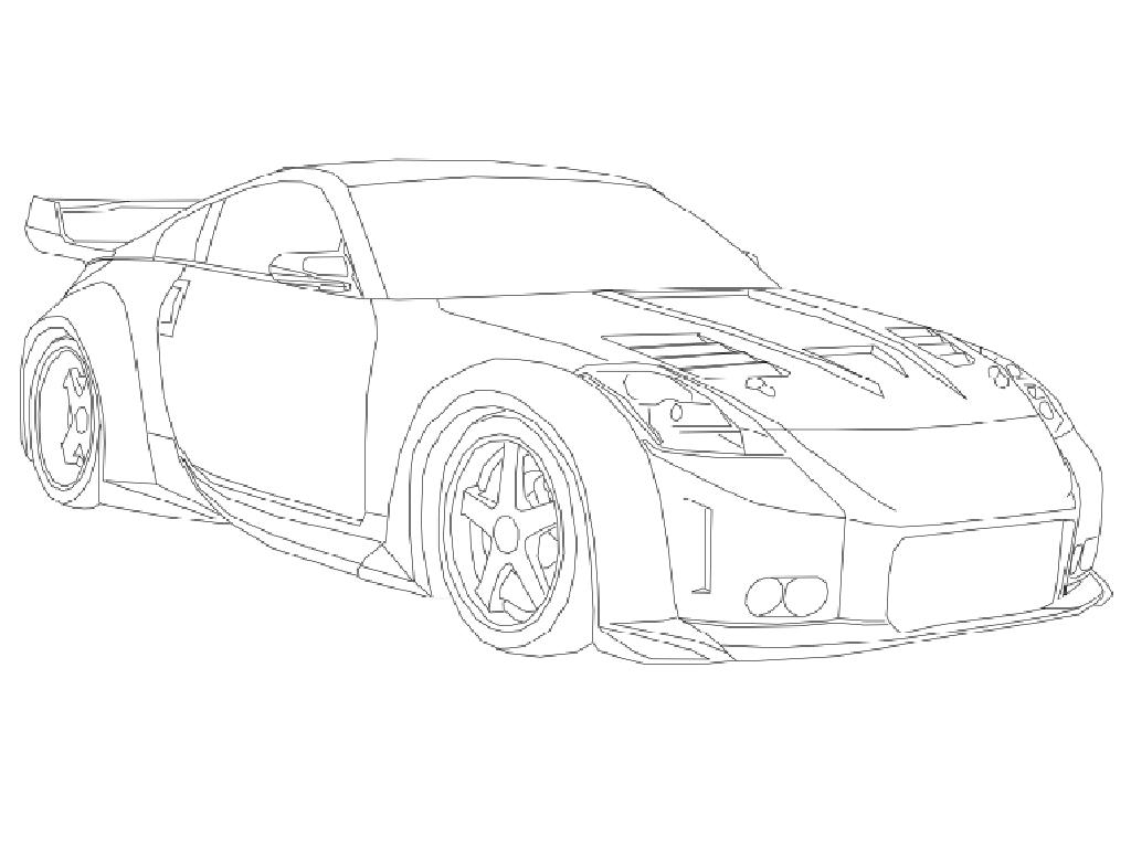 Skyline Gtr Drawing At Getdrawings