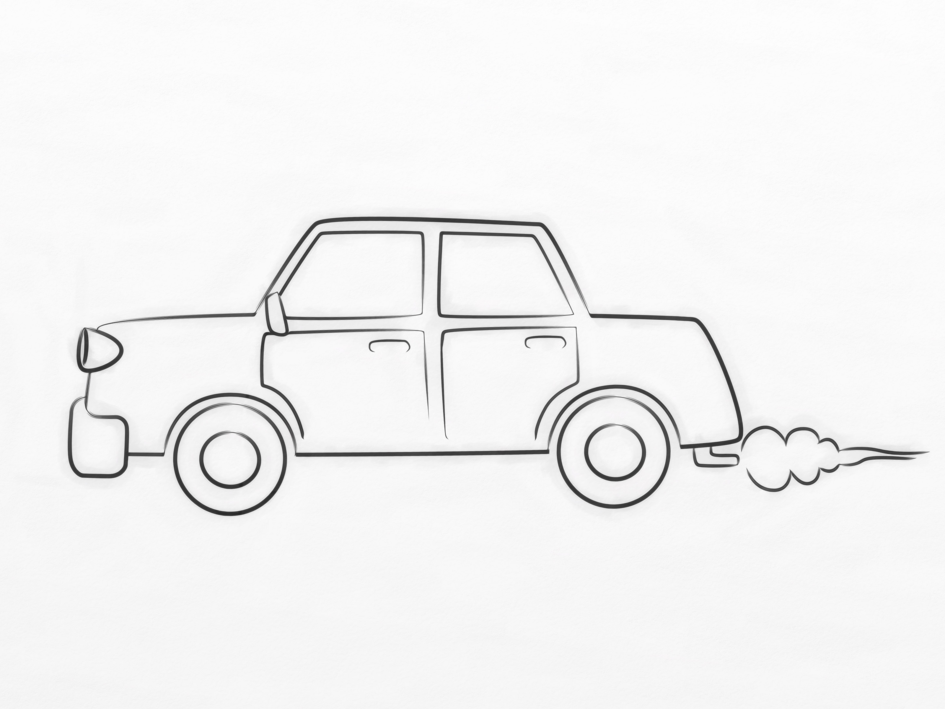 Small Car Drawing At Getdrawings