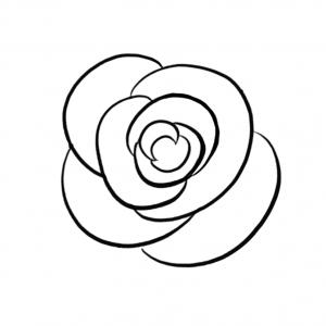 drawing rose drawings drawn google getdrawings