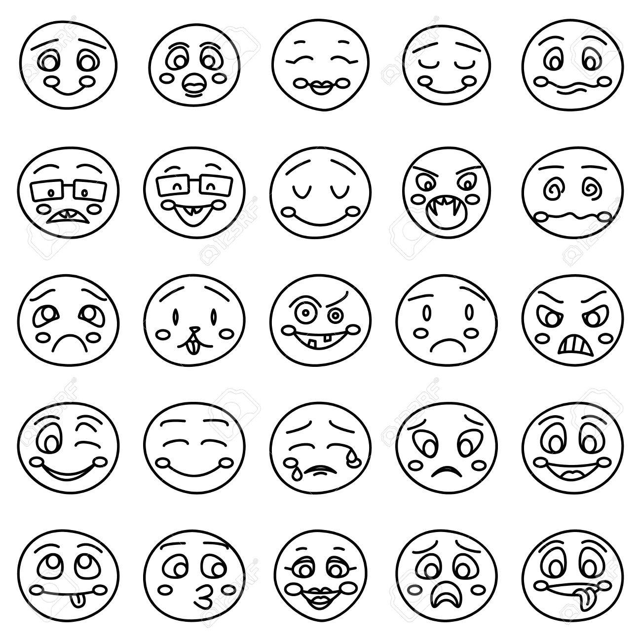 Smiley Face Drawing At Getdrawings