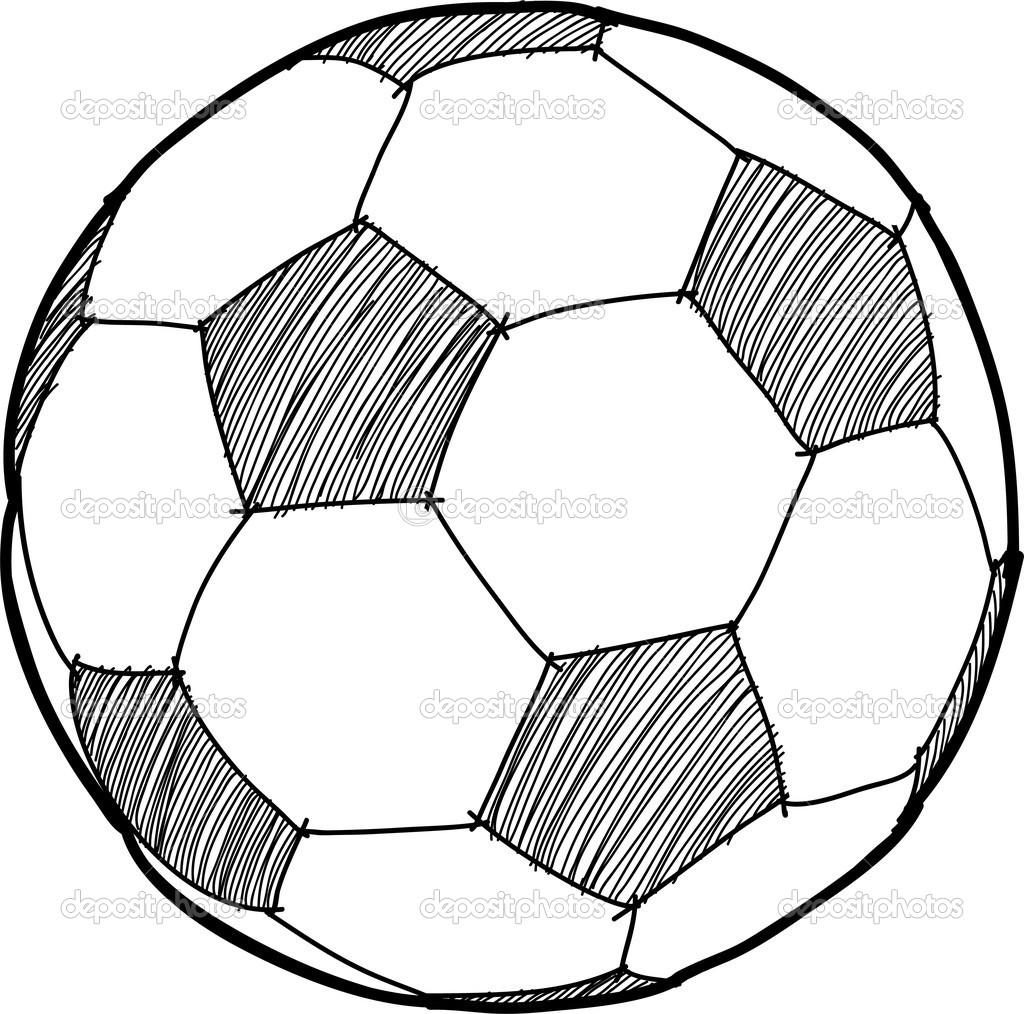 Soccer Ball Drawing Template At Getdrawings