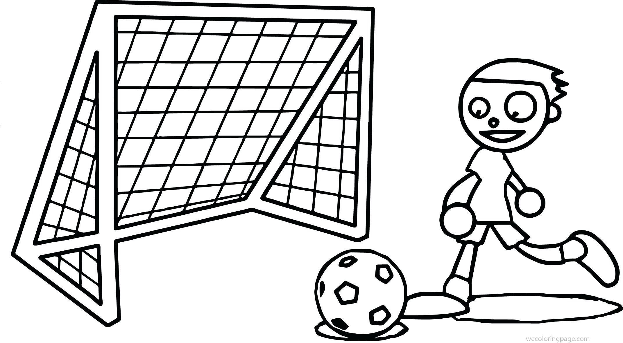 Soccer Net Drawing At Getdrawings