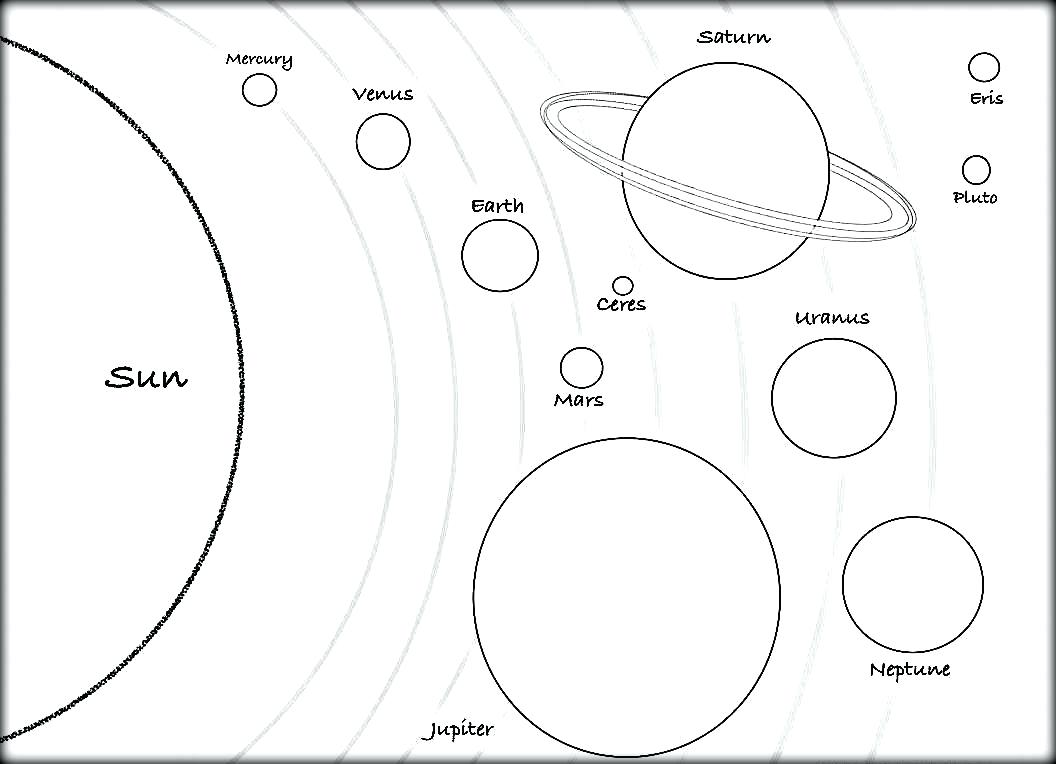 The Solar System Drawing At Getdrawings Free For Personal