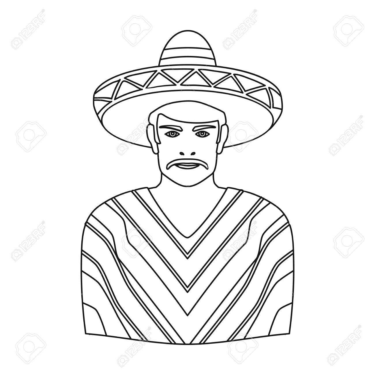 Sombrero Drawing At Getdrawings