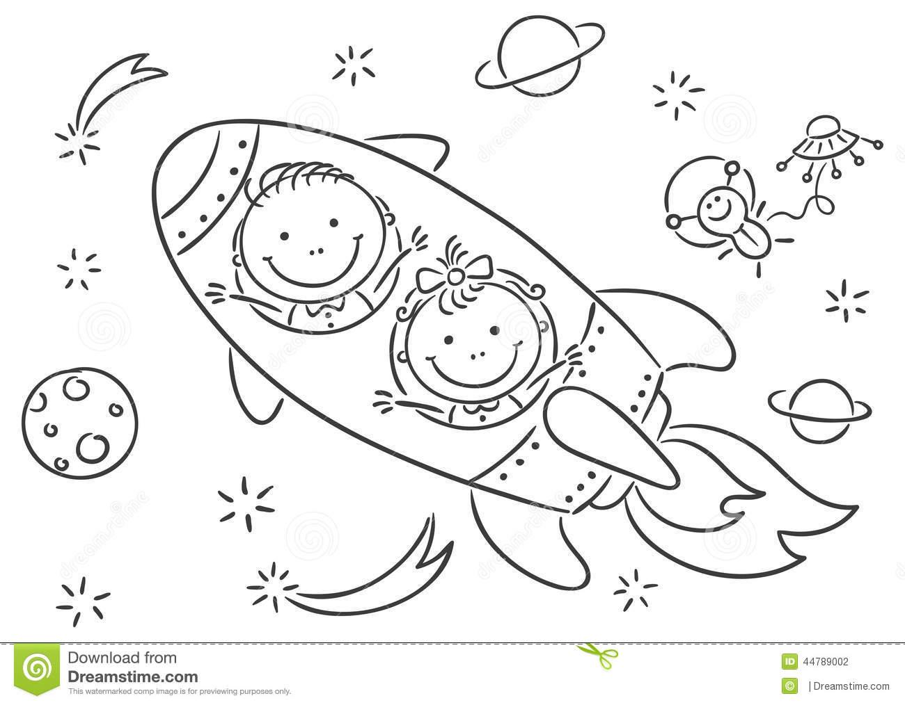 Space Drawing At Getdrawings