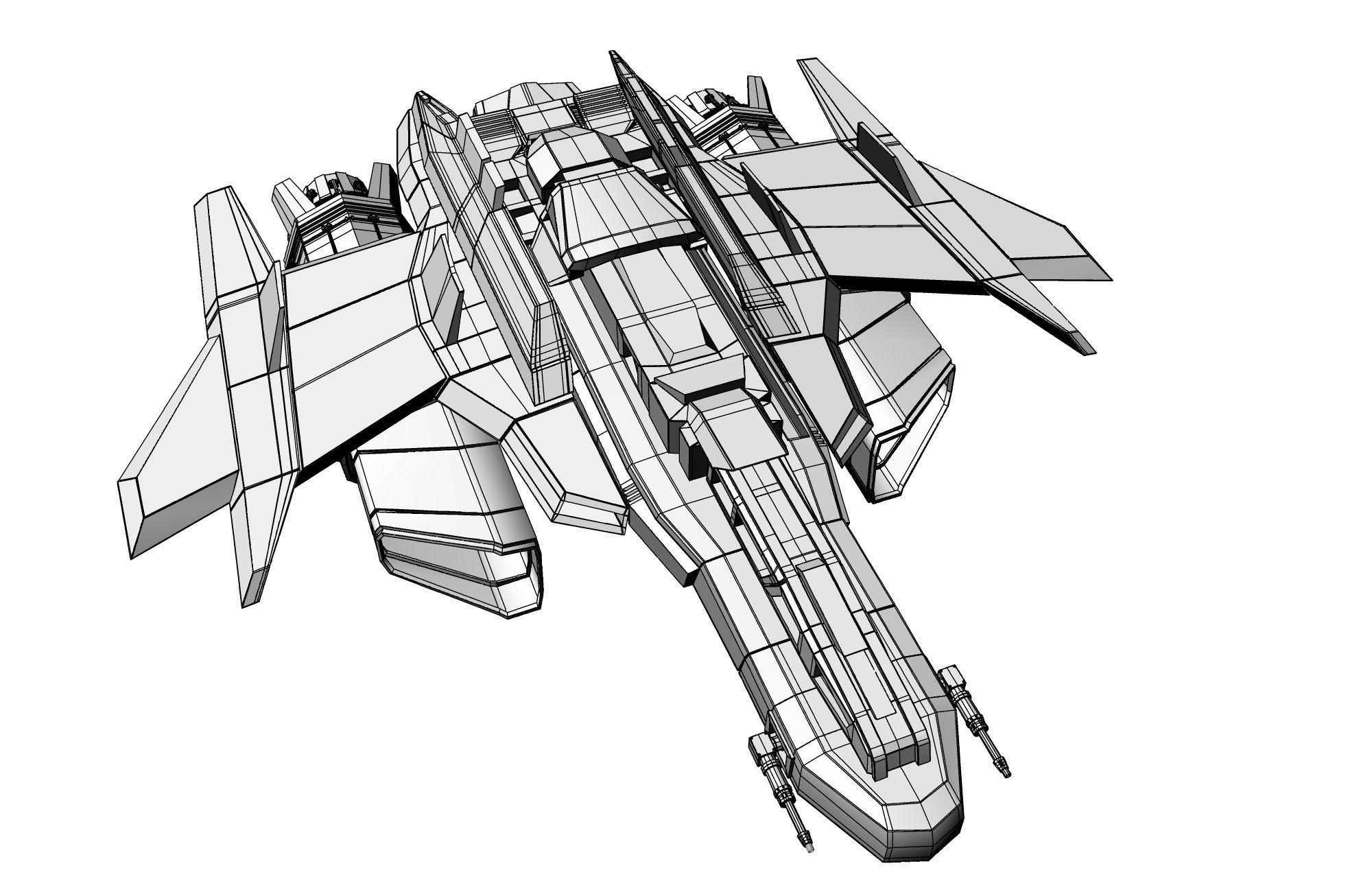 Spacecraft Drawing At Getdrawings