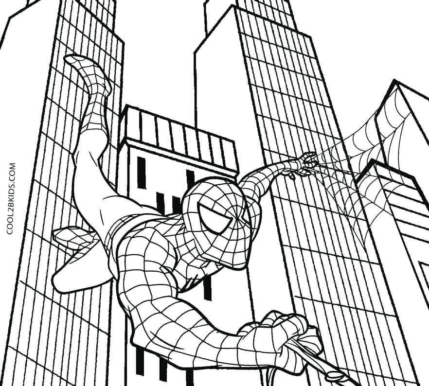 Black Spiderman Drawing At Getdrawings Com