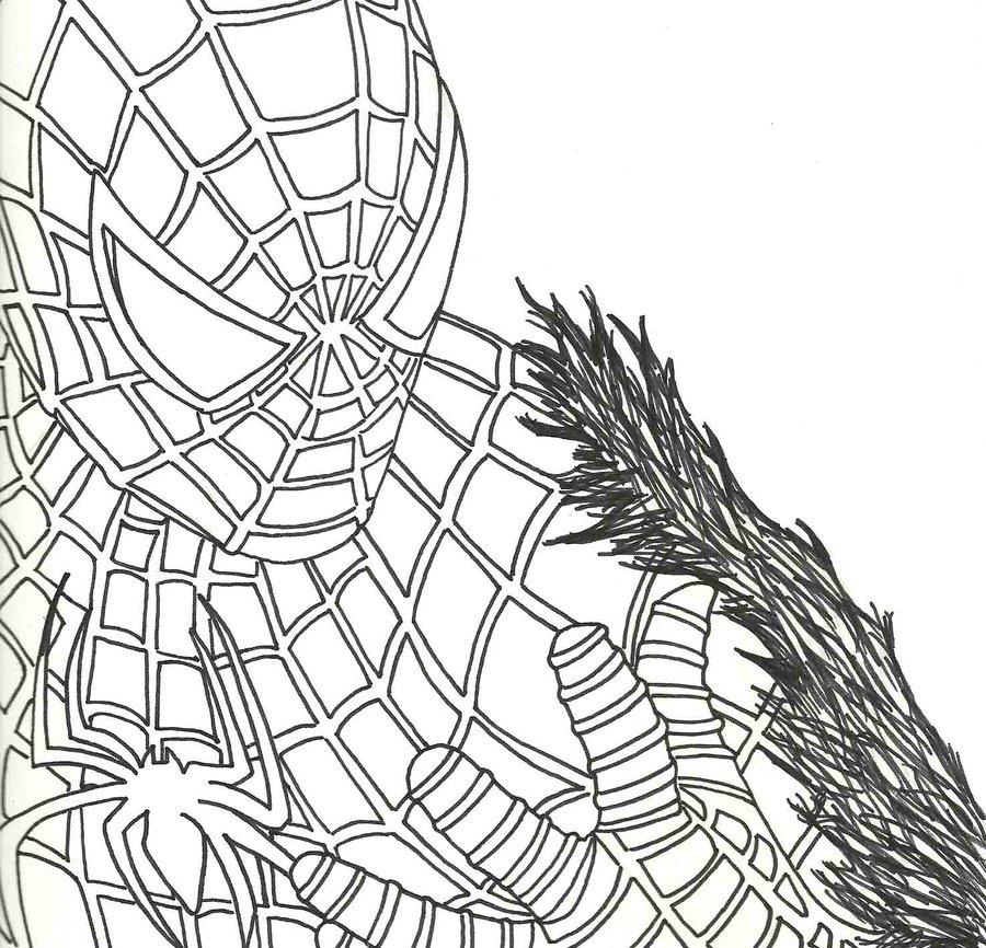 Sandman Spider Man Drawings