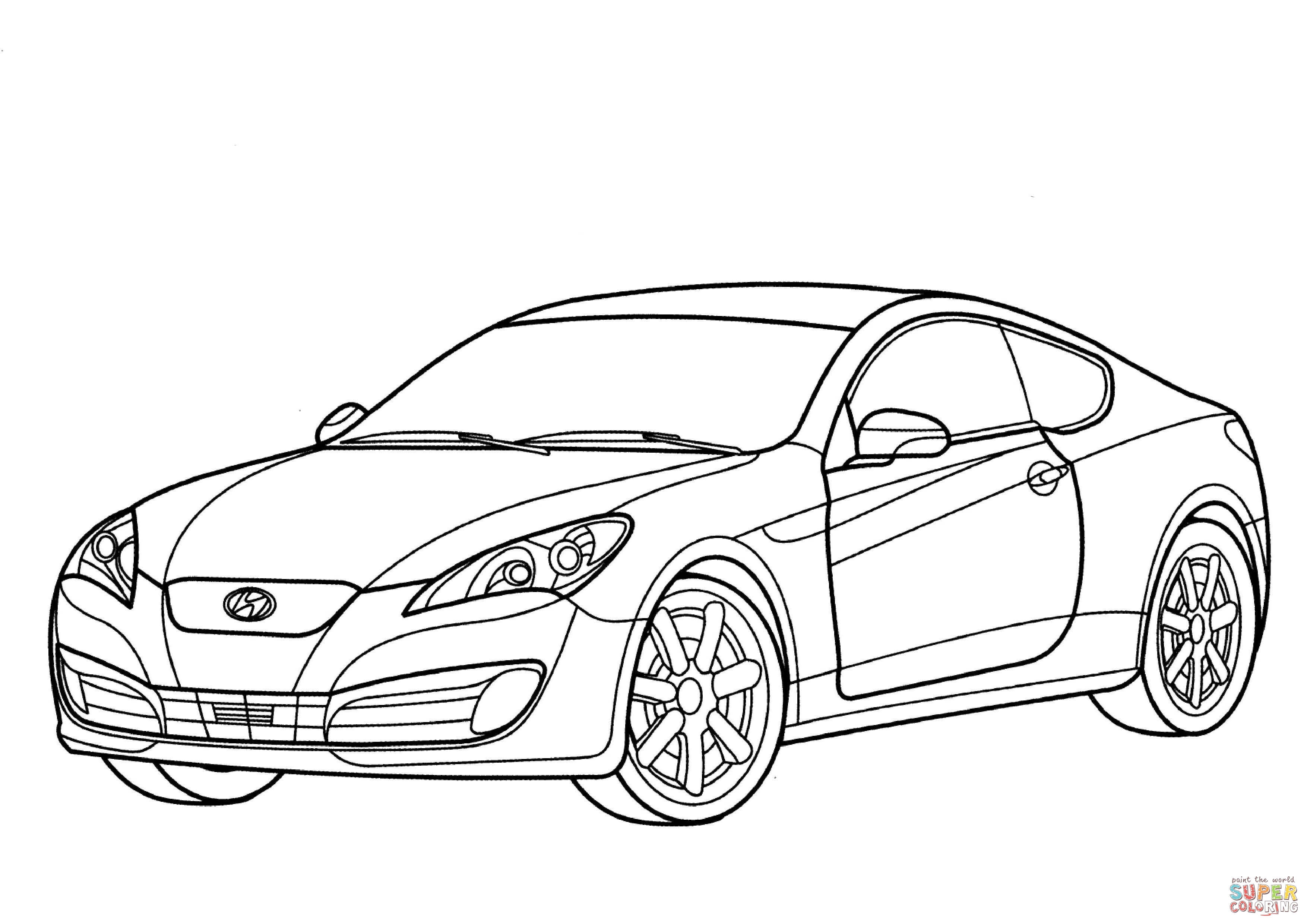 Sports Cars Drawing At Getdrawings