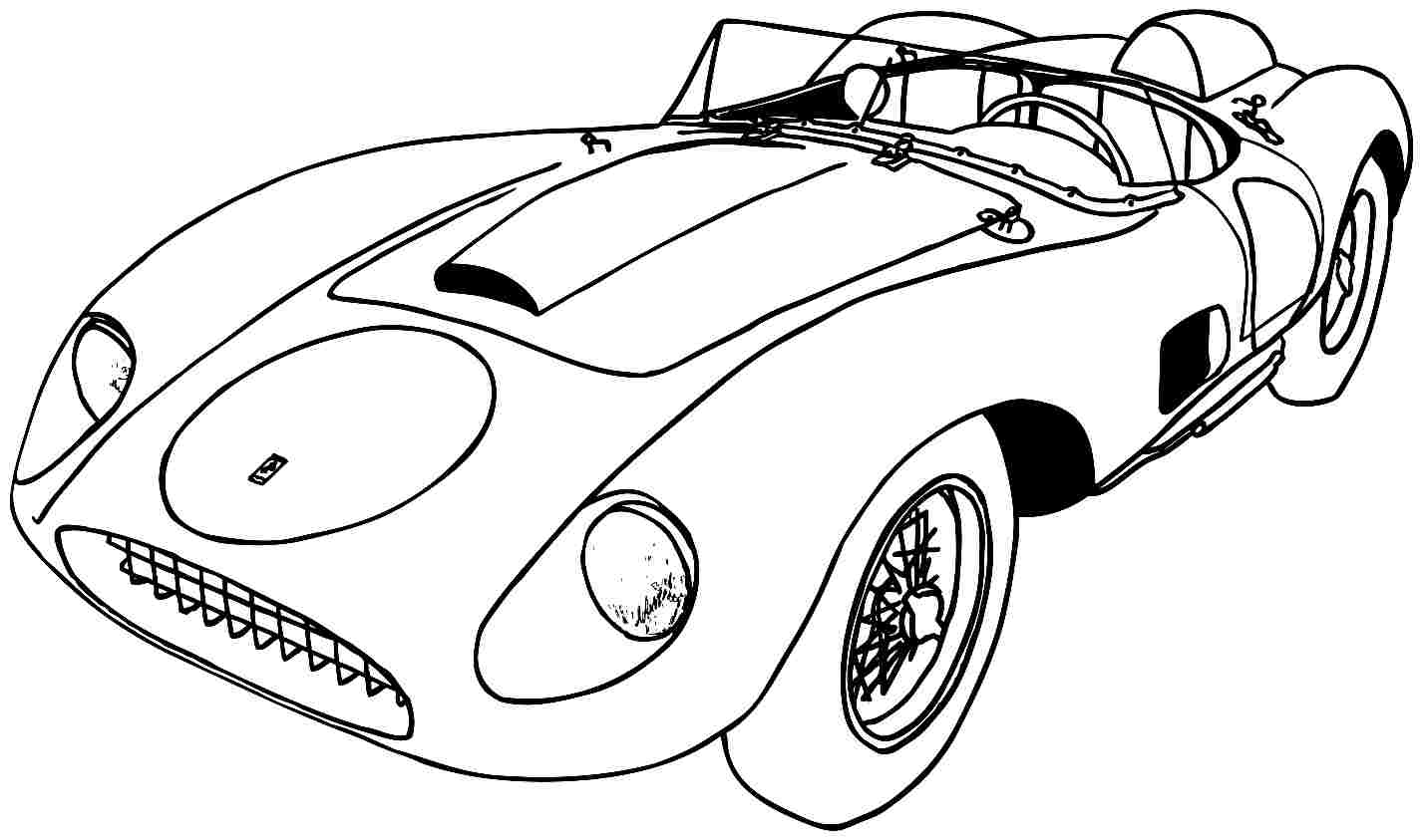 The Best Free Sports Car Drawing Images Download From