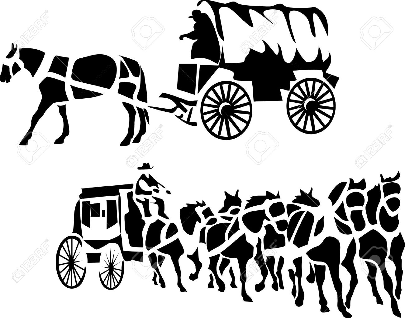 The best free Stagecoach drawing images. Download from 57