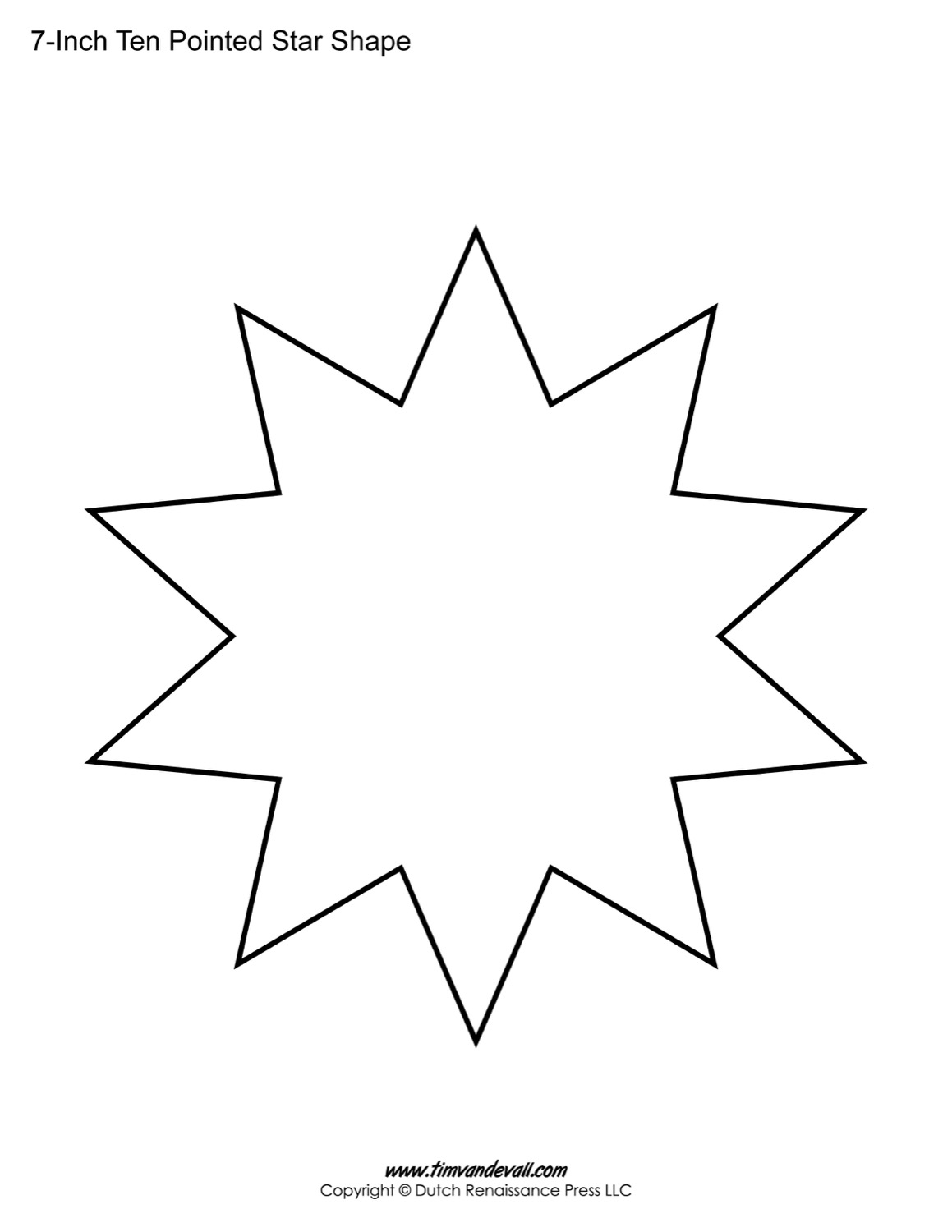Star Shape Drawing At Getdrawings