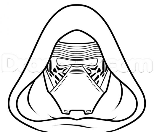 Free Coloring Pages Of Boba Fett Mask
