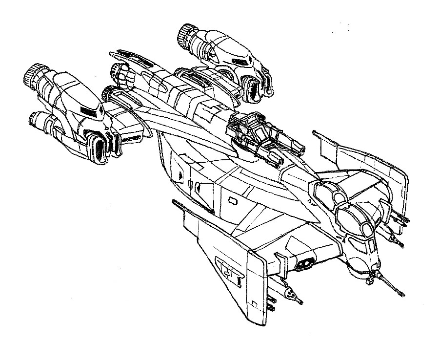 Star Wars Tie Fighter Drawing At Getdrawings Com