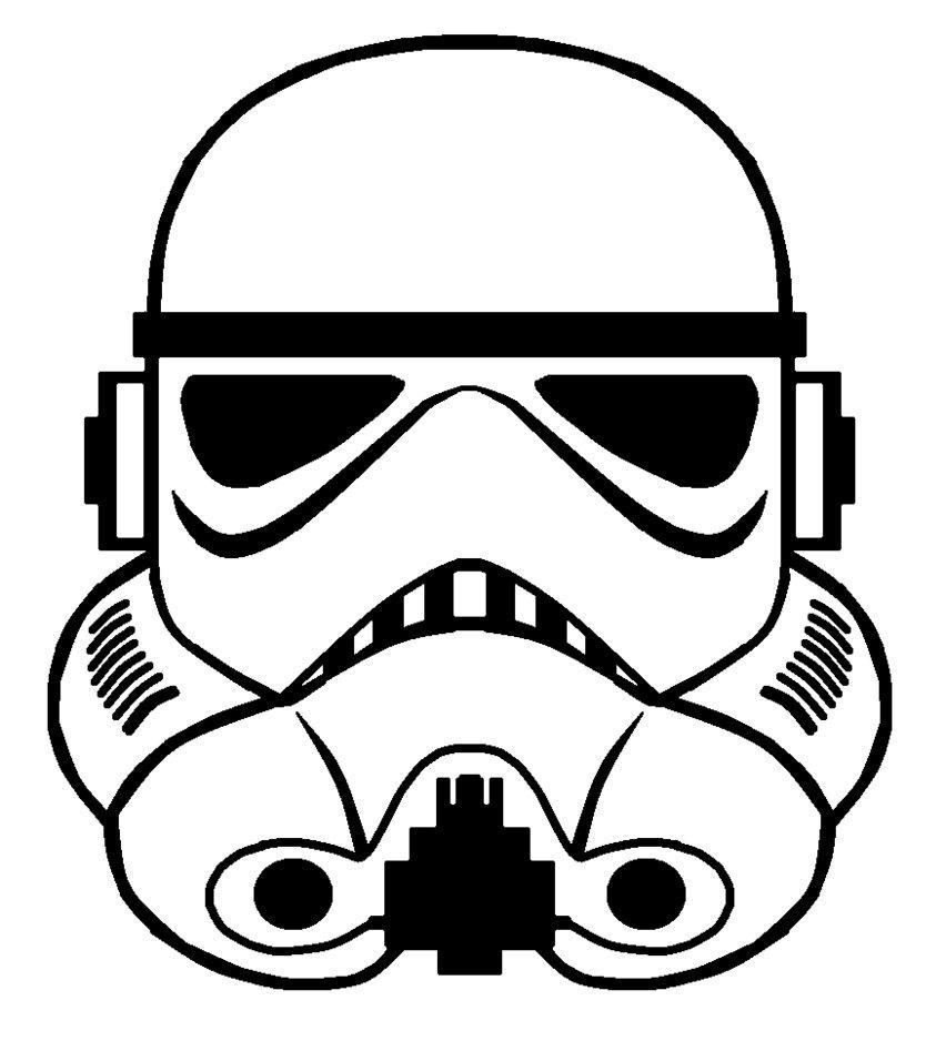 Star Wars Stormtrooper Helmet Drawing at GetDrawings.com
