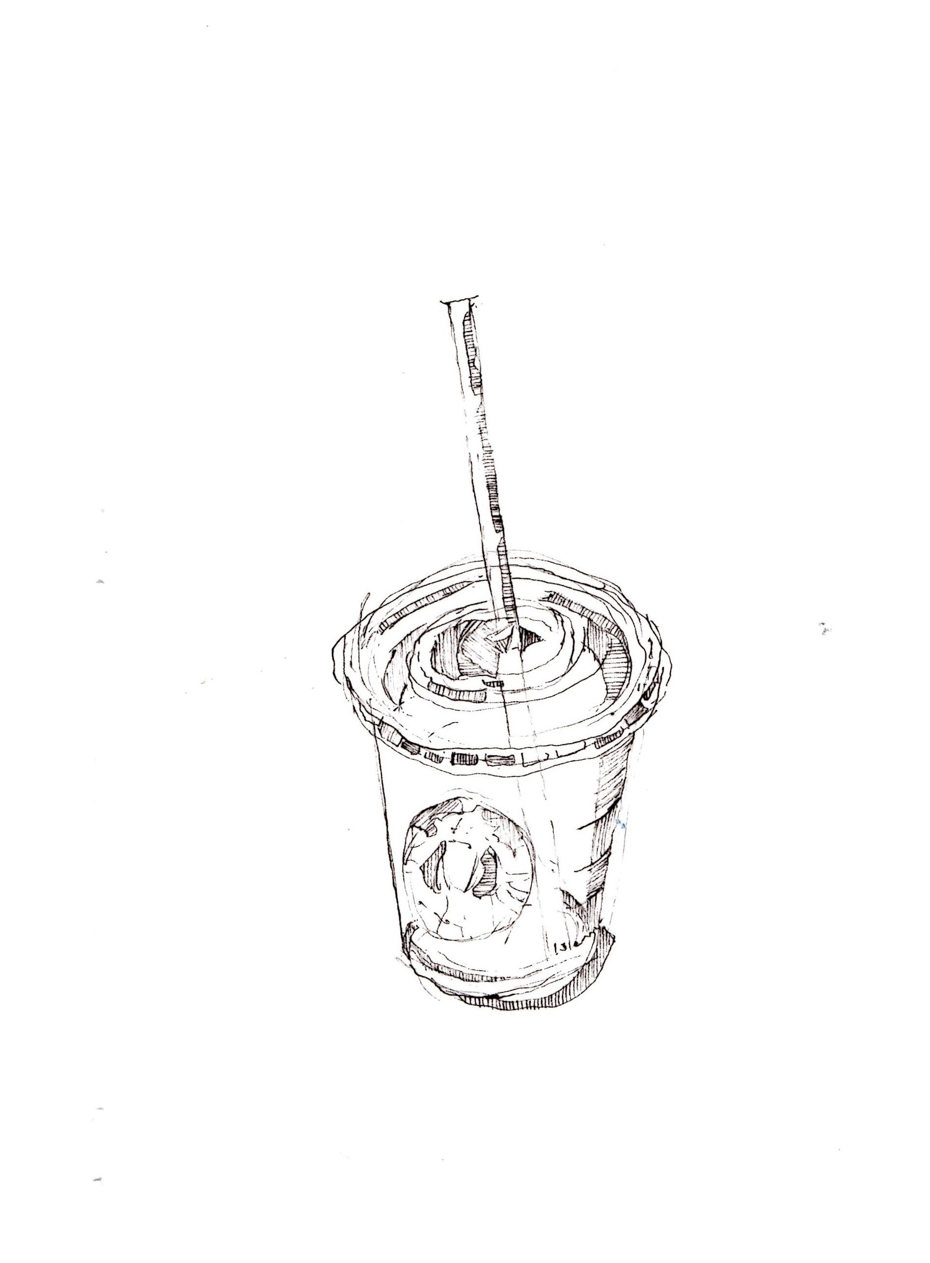 Starbucks Coffee Drawing At Getdrawings