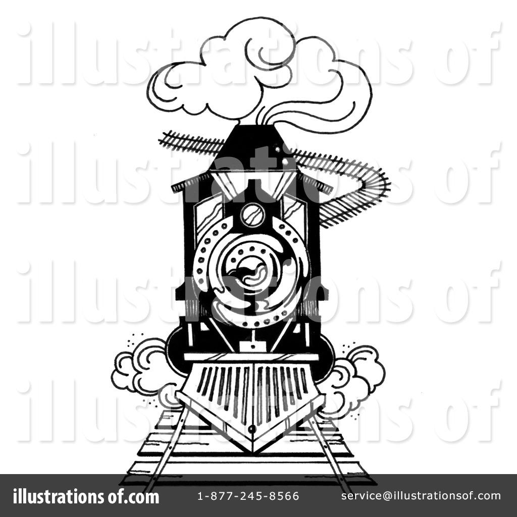 Steam Train Drawing At Getdrawings