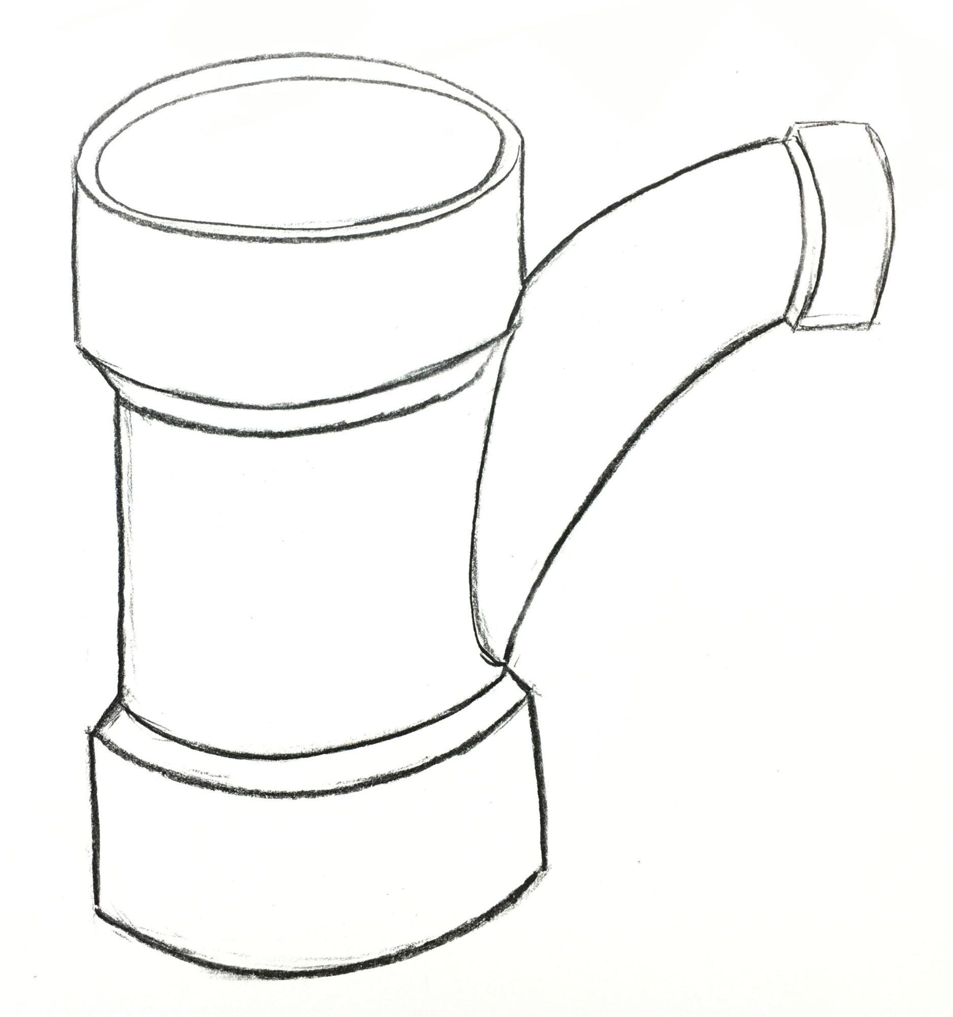 Steel Pipe Drawing At Getdrawings