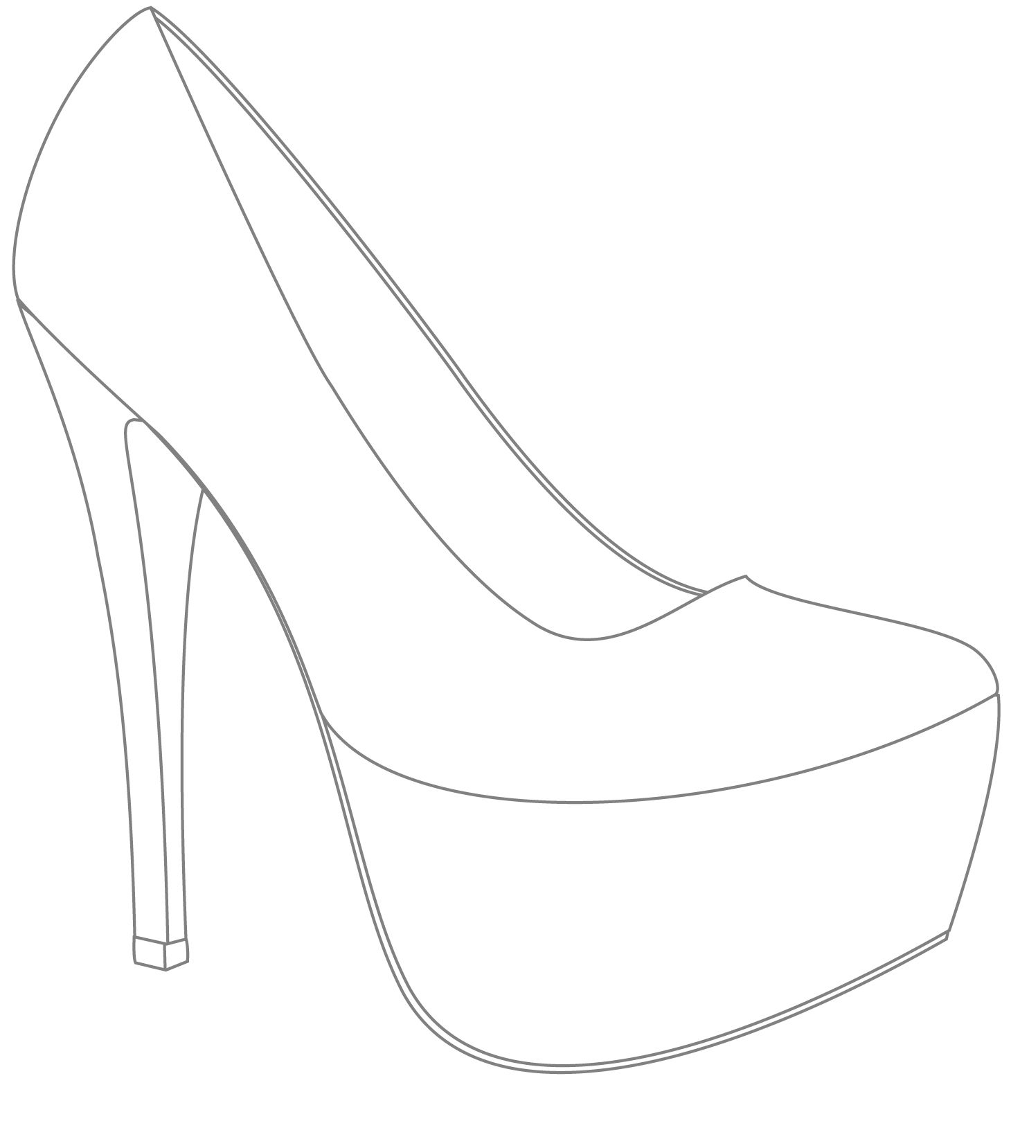 Stiletto Drawing At Getdrawings