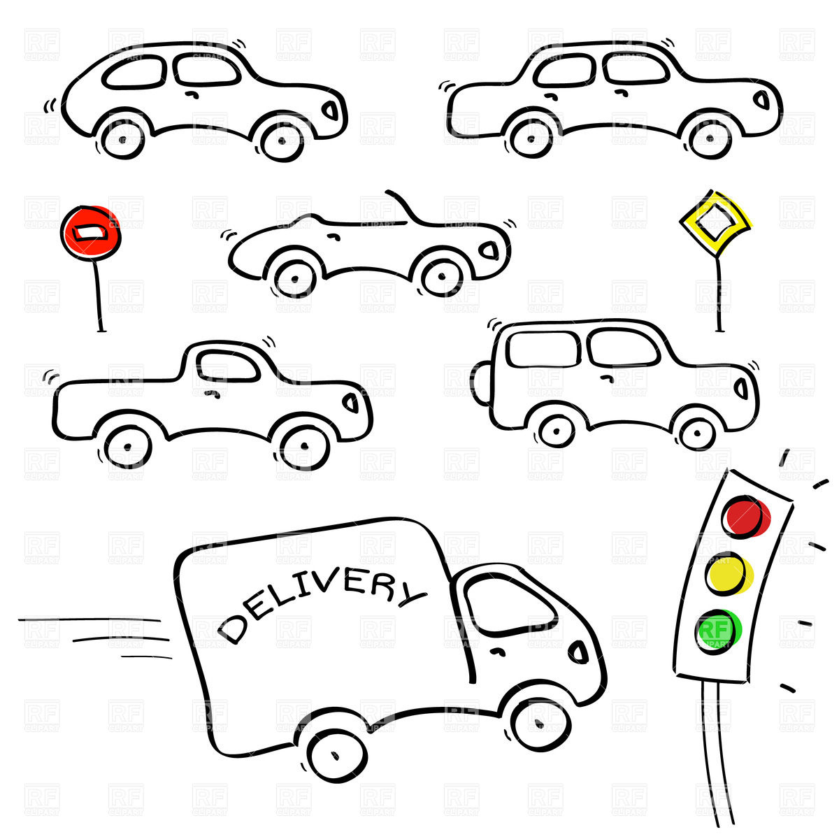 Lovely traffic drawing ideas the best electrical circuit diagram