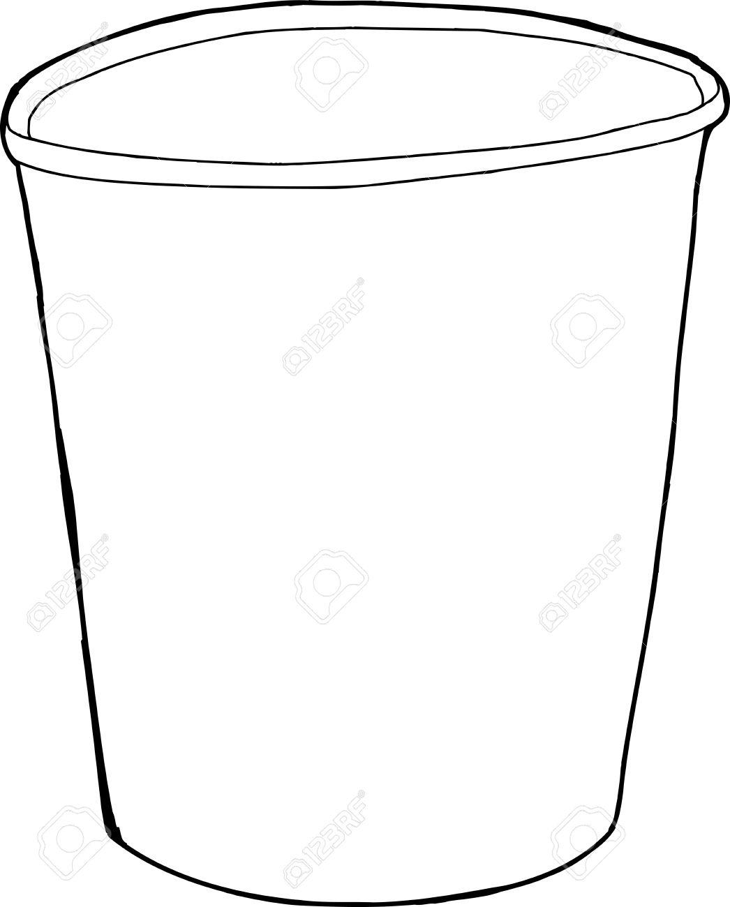 Styrofoam Cup Drawing At Getdrawings