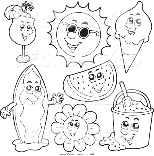 small resolution of 1024x1044 awesome summer coloring sheets nice colorings
