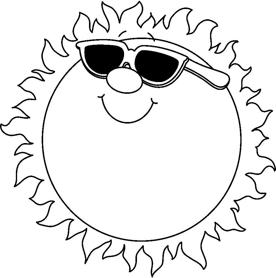 hight resolution of 921x925 the sun clipart black and white