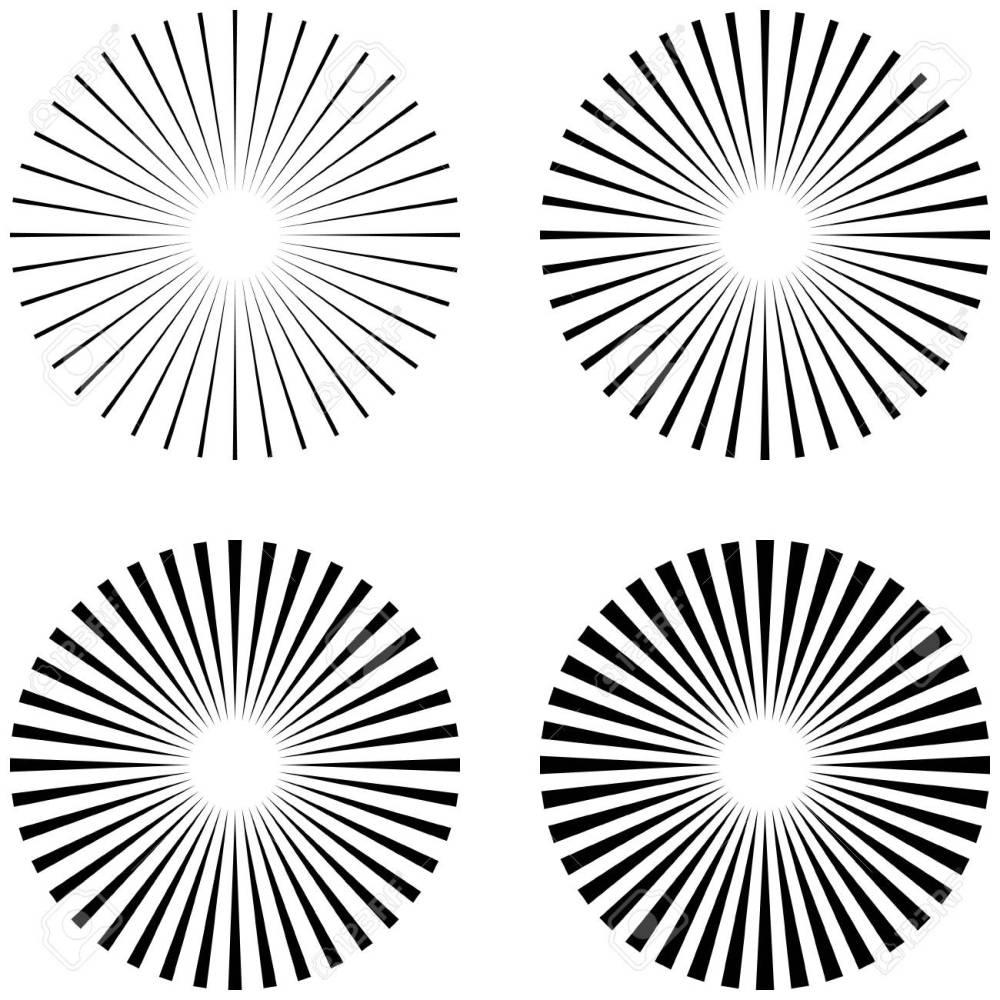 medium resolution of 1300x1300 set rays beams element the sun rays the shape of the starburst