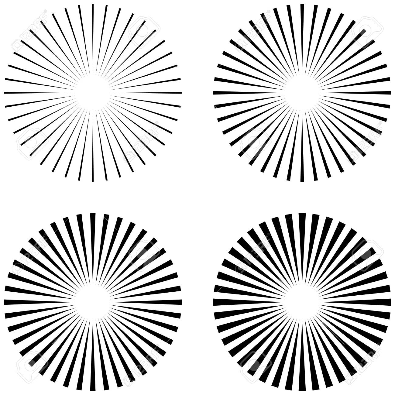 hight resolution of 1300x1300 set rays beams element the sun rays the shape of the starburst