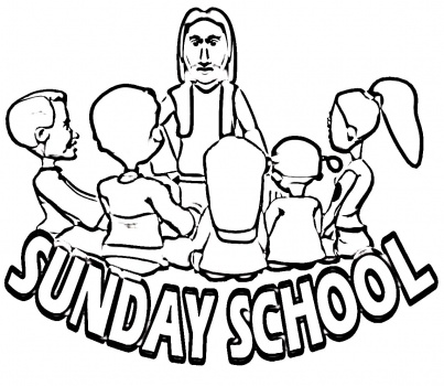 Making Good Choices Sunday School Coloring Pages Coloring