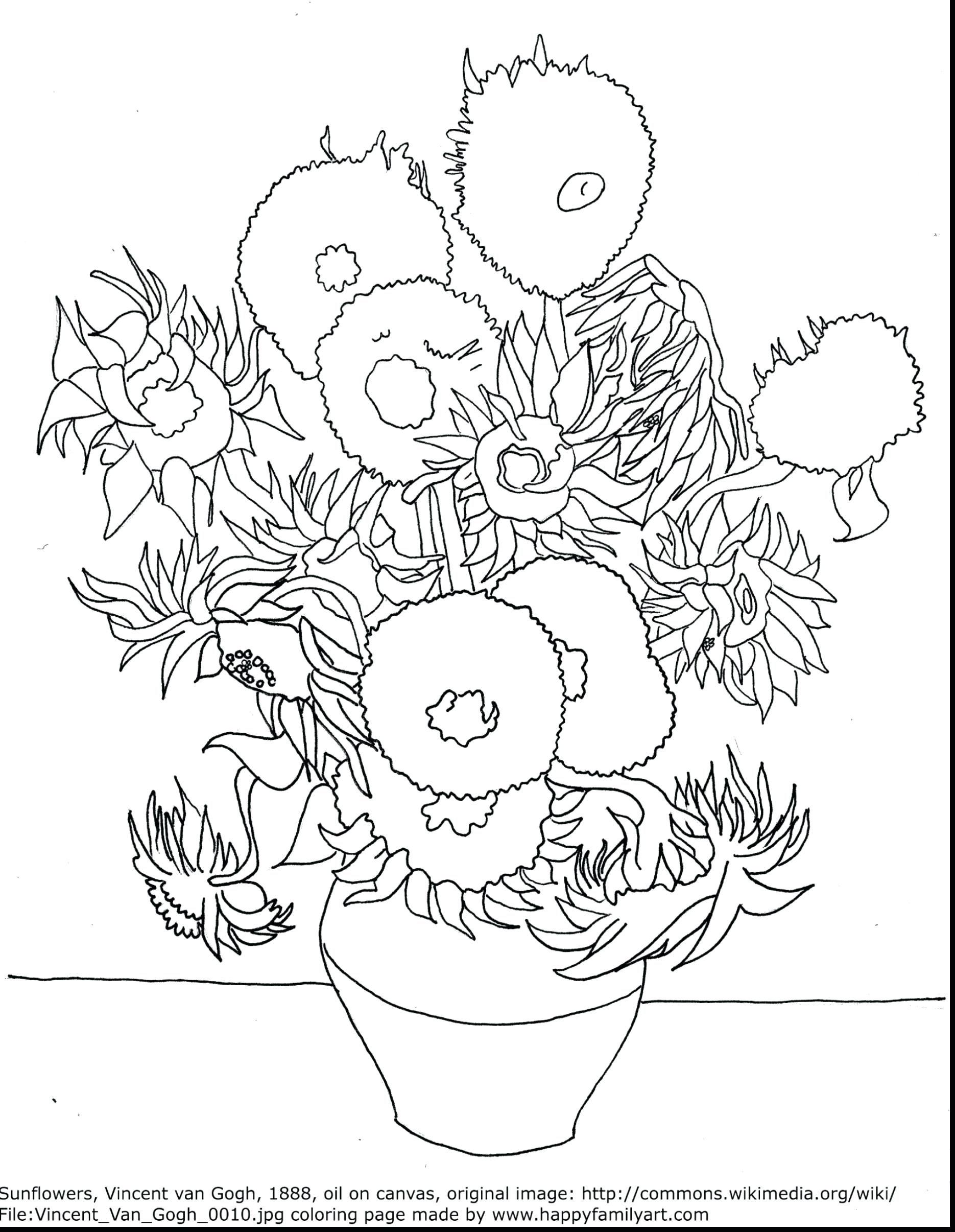 Sunflowers Drawing At Getdrawings