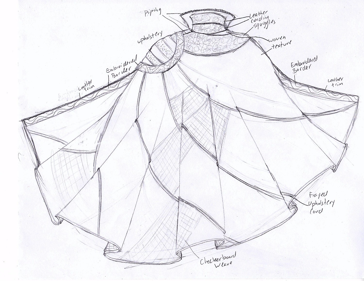 Superhero Cape Drawing At Free For