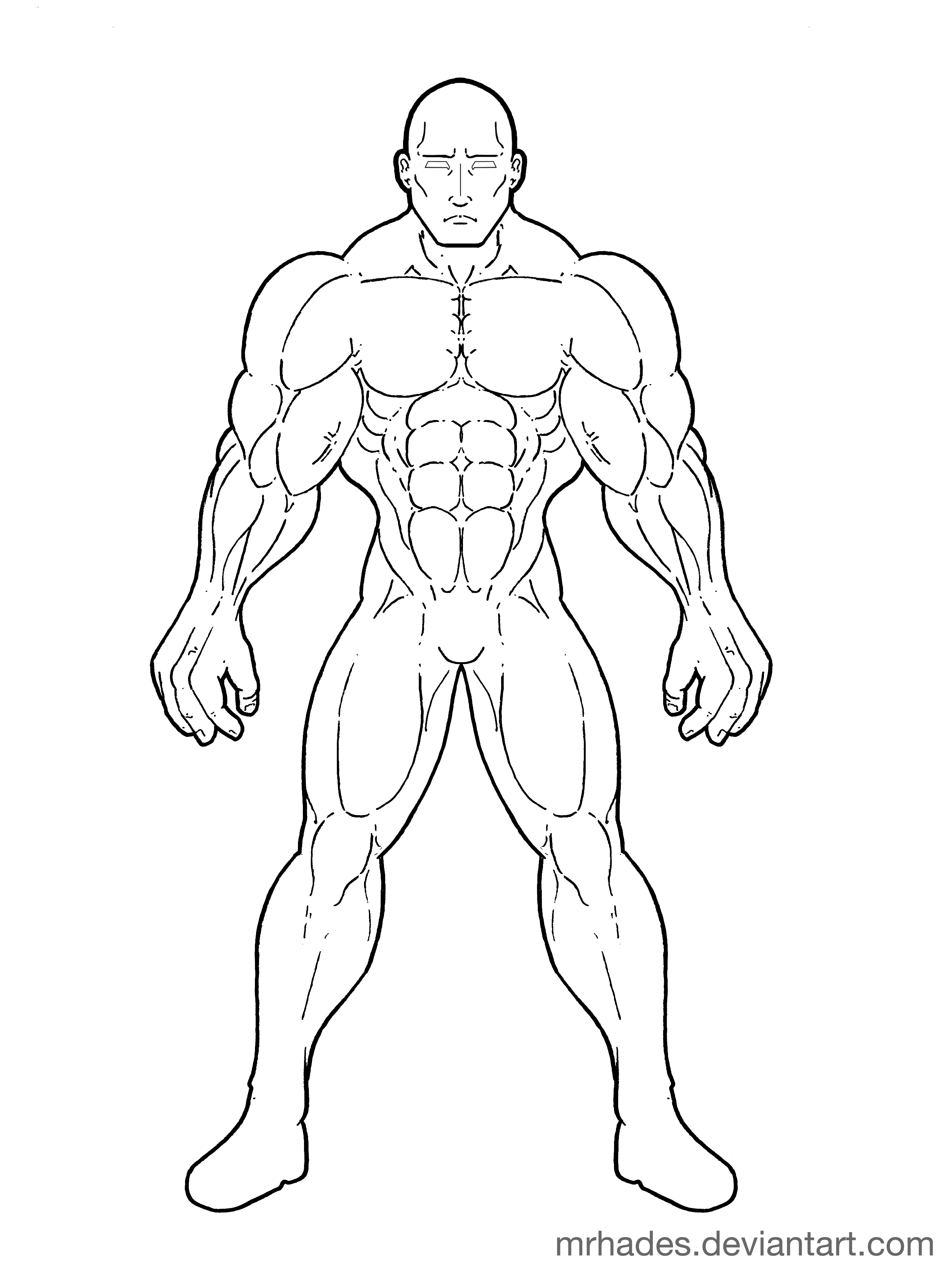 Superhero Drawing Templates At Getdrawings