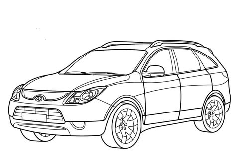 The best free Hyundai drawing images. Download from 27