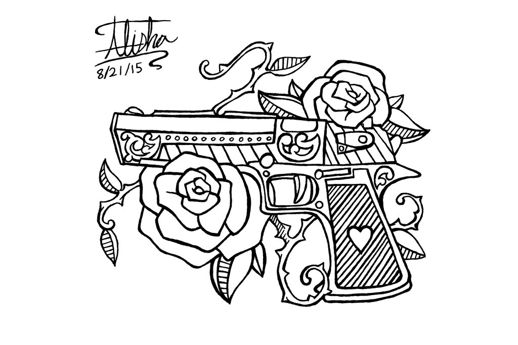 Collection Of 25 Line Art Lock N Key Tattoo Design