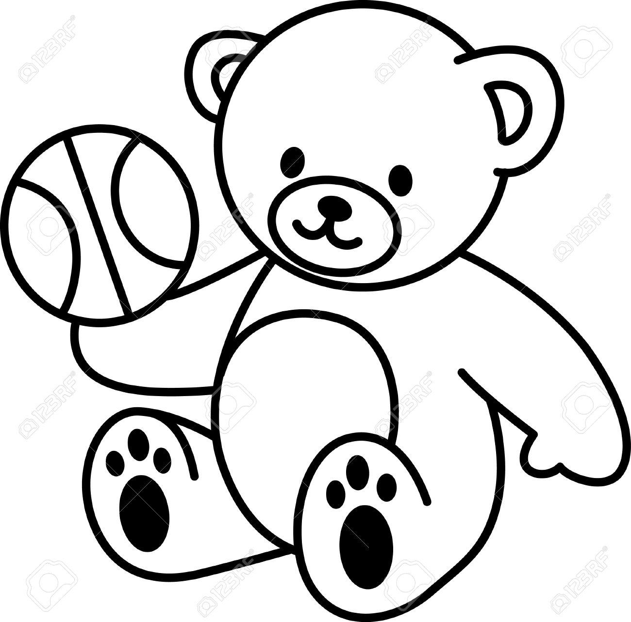 Teddy Bear Drawing Images At Getdrawings
