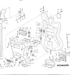 1136x1000 jazzmaster building schematic guitars building [ 1136 x 1000 Pixel ]