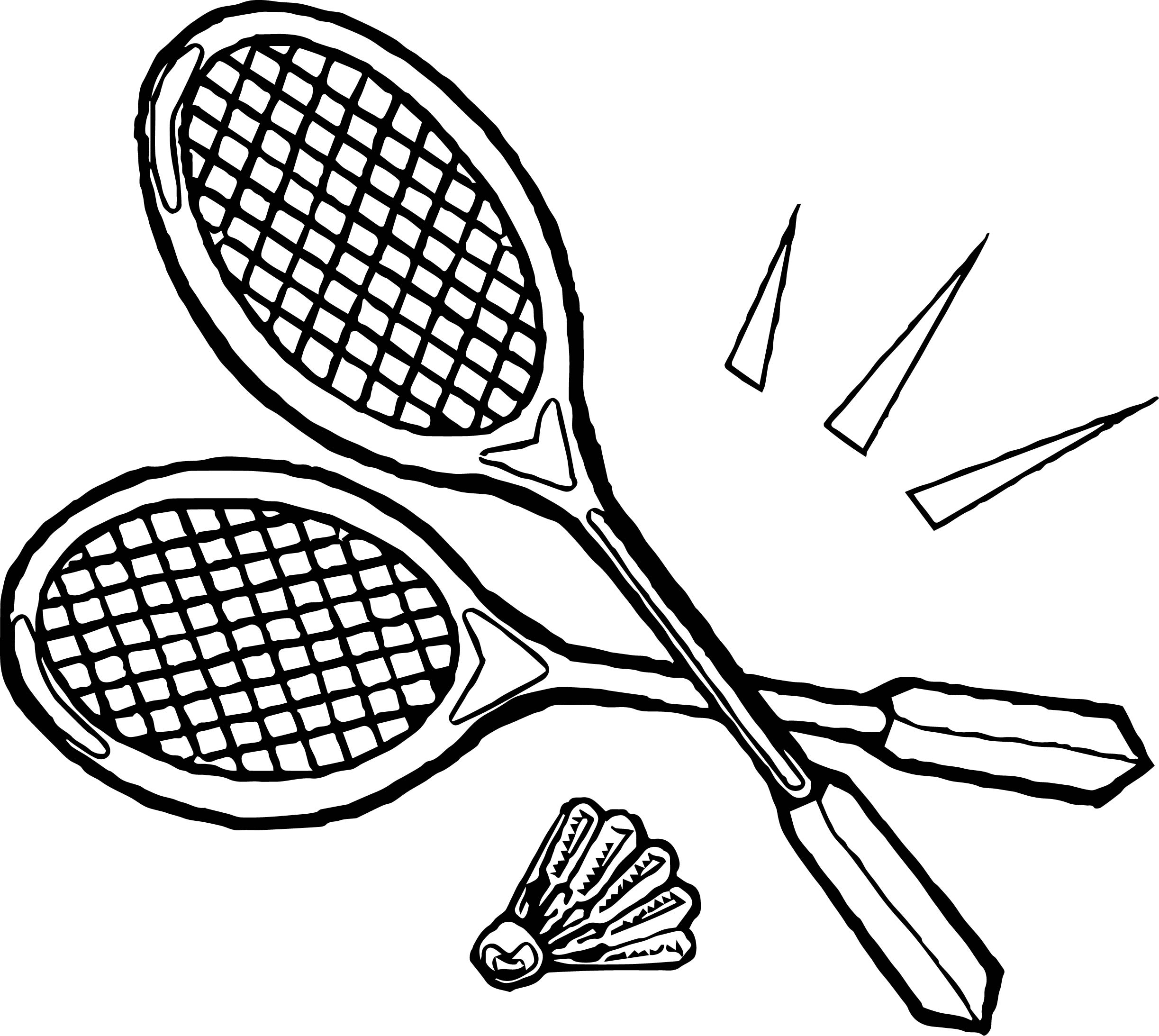Tennis Racquet Drawing At Getdrawings