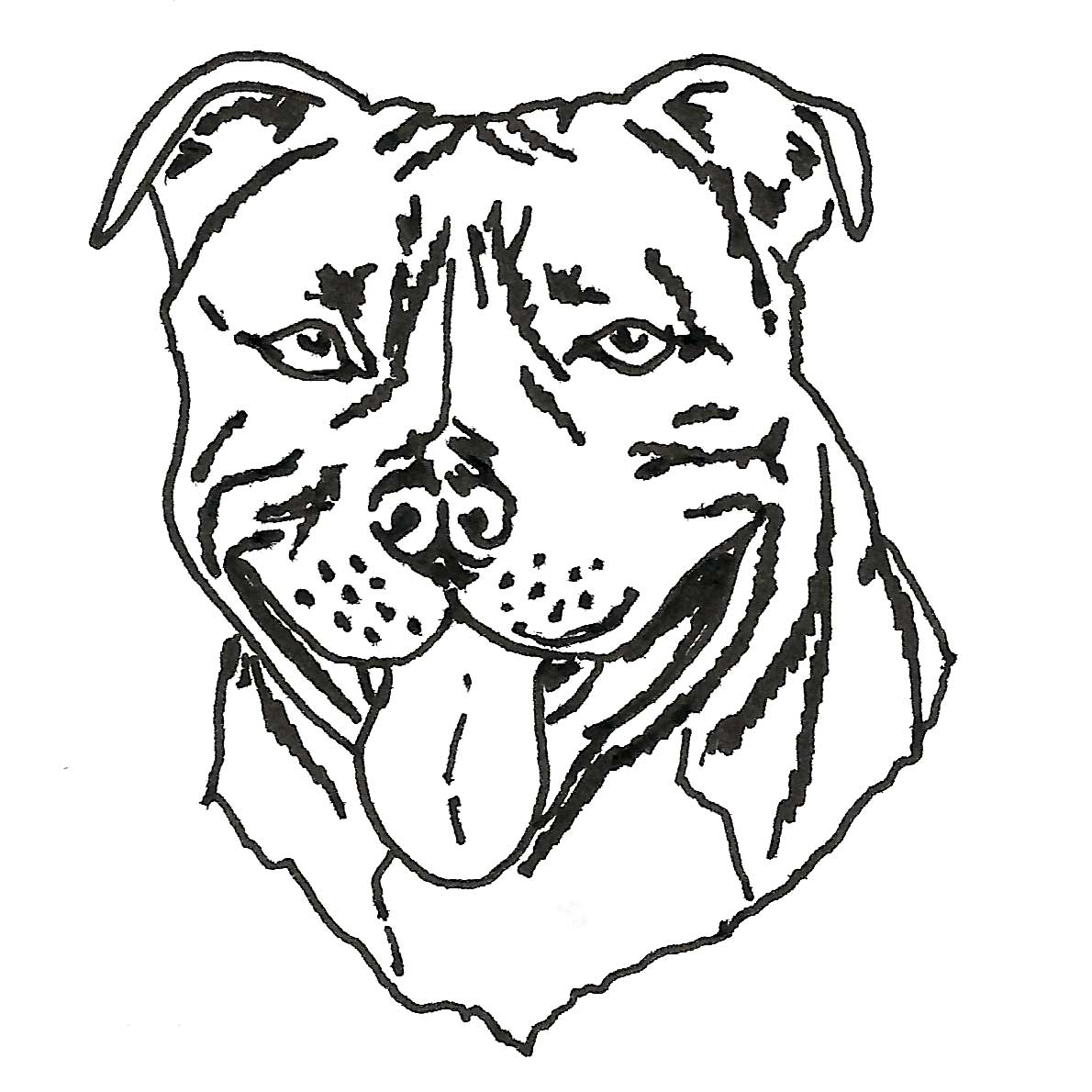 Terrier Drawing At Getdrawings