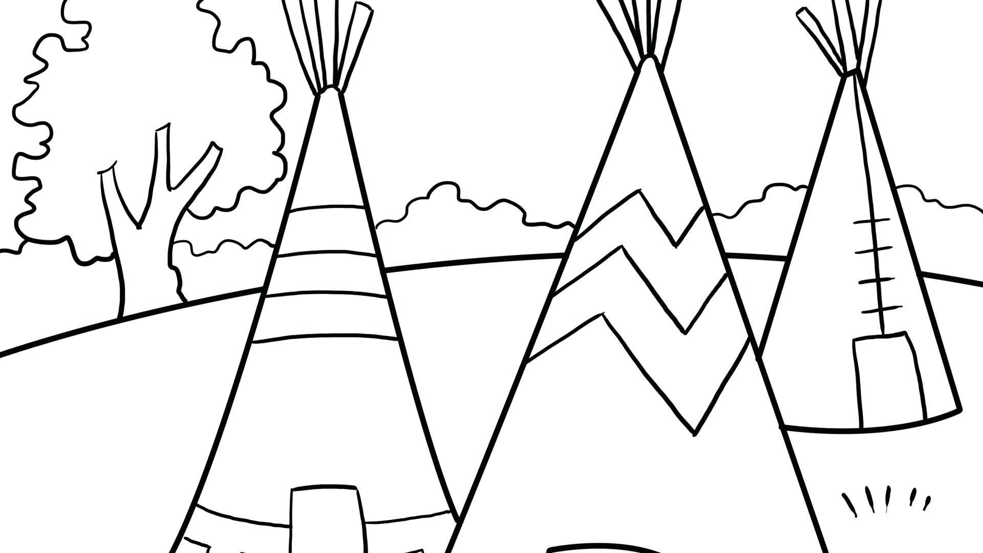 Wyoming State Tree Brid Flower And Flag Rodeo Coloring Page