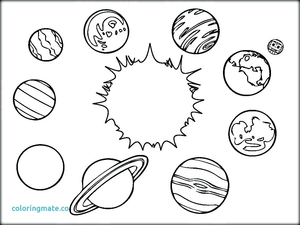 The Solar System Drawing At Getdrawings