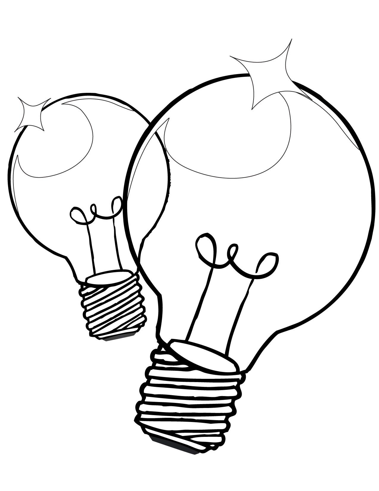 Thomas Edison Light Bulb Drawing At Getdrawings