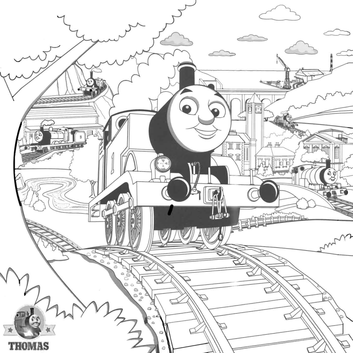 Thomas The Tank Engine Drawing At Getdrawings
