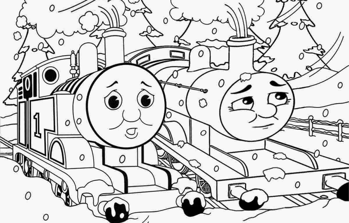 Thomas Train Drawing At Getdrawings
