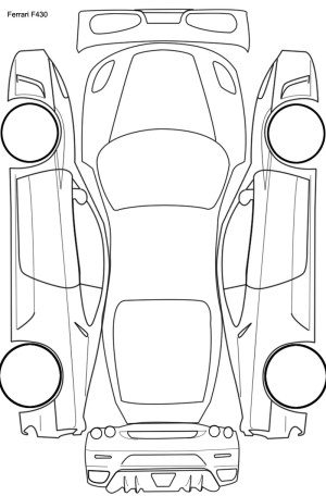 Top View Of Car Drawing at GetDrawings | Free for