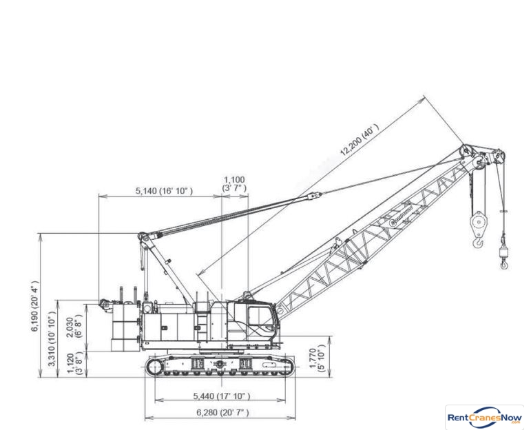 A Diagram For A Frame Hoist