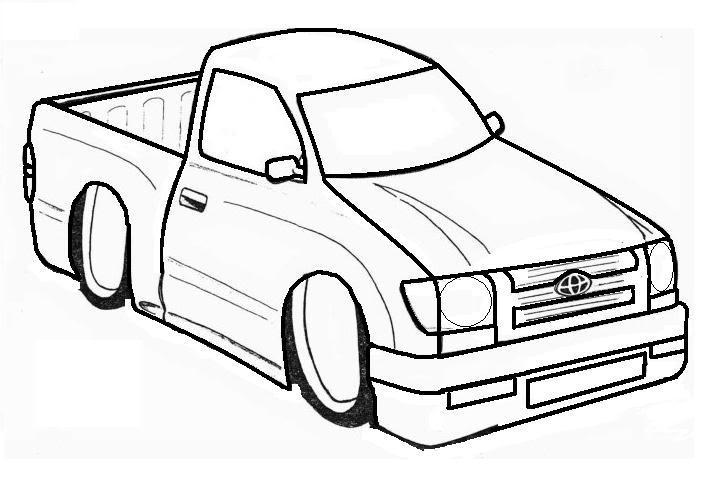 Toyota Tacoma Branding Logo Design