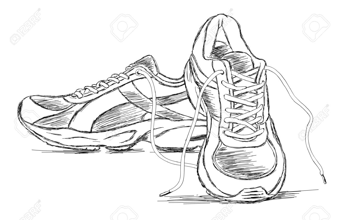 Track Shoe Drawing At Getdrawings